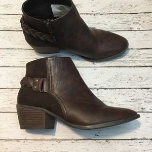 American Eagle Outfitters 🦅 Brown Ankle Boots  7